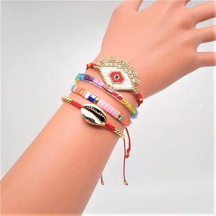Tila imported beaded female bracelet set jewelry Miyuki rice beads hand-woven eye accessories NHGW177205's discount tags