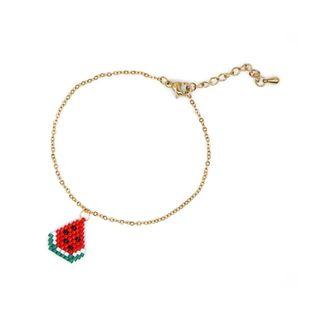 Simple ladies bracelet fruit series jewelry Miyuki rice beads hand-woven bracelet NHGW177235's discount tags
