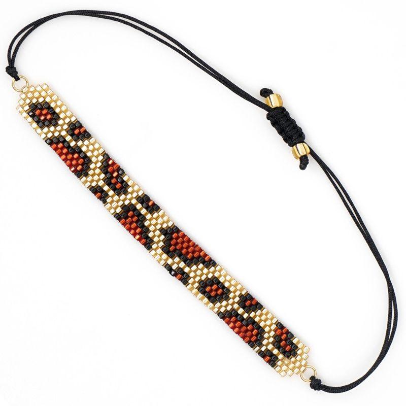 Fashion leopard new female bracelet Miyuki rice beads woven jewelry NHGW177239