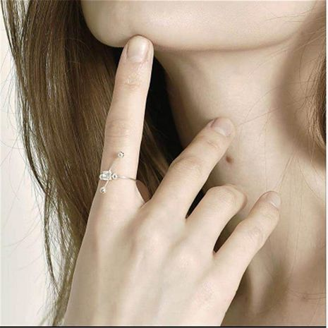 Minimalist cross-studded fashion pierced earrings exquisite ring NHYQ177303's discount tags