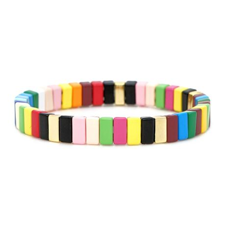 Fashion alloy paint color and color bracelets for men and women NHGW177201's discount tags