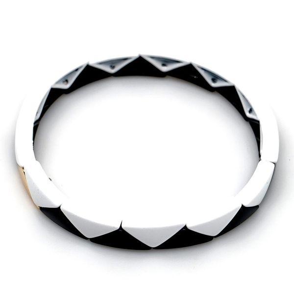 Fish scale shape alloy paint color retaining men and women bracelet jewelry NHGW177226