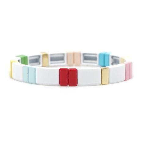 Zinc alloy paint men and women bracelet jewelry NHGW177236's discount tags