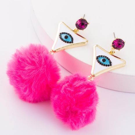 Boucles d'oreilles en alliage de triangle goutte à goutte yeux cheveux Boucles d'oreilles NHJE177423's discount tags