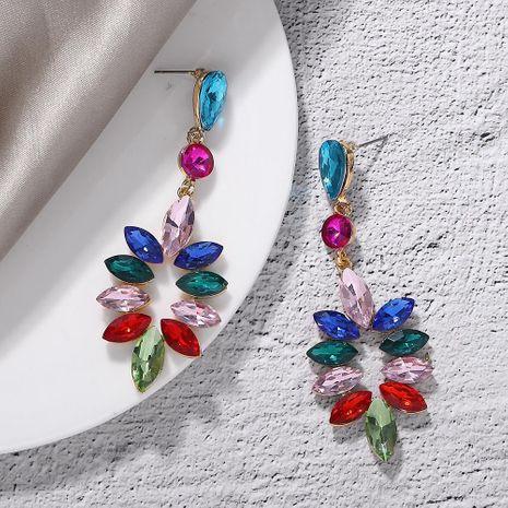 Pendientes de diamantes de aleación pendientes de estilo bohemio temperamento accesorios de joyería creativa NHJQ177456's discount tags
