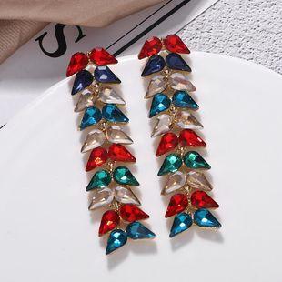Pendientes de diamantes de imitación de diamantes modificados pendientes de moda pendientes largos pendientes de tendencia NHJQ177465's discount tags