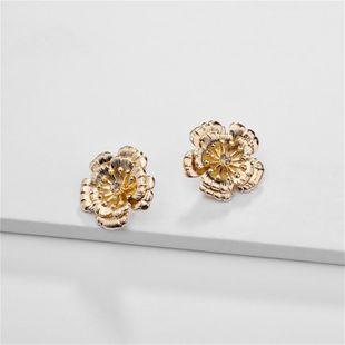 Pendientes de joyería aleación de joyería de tres capas de flores pendientes tridimensionales femeninos NHLU177618's discount tags