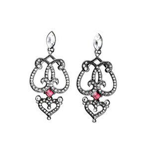 Pendientes vintage elegantes y elegantes para mujer negra NHQD177515's discount tags