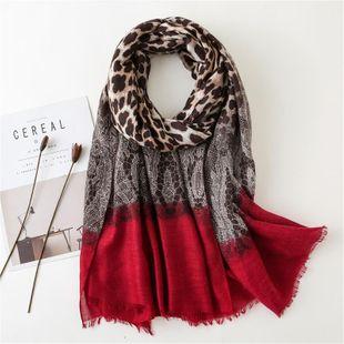 Al por mayor de Moda Algodón y encaje de leopardo costura bufanda de moda otoño e invierno nuevo estilo NHGD177928's discount tags