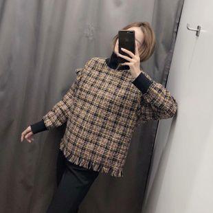 2019 suéter con fondo de blusa con costuras de invierno NHAM177781's discount tags