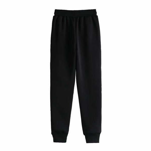 2019 elastic waist high elastic thick velvet thick casual sports trousers NHAM177773