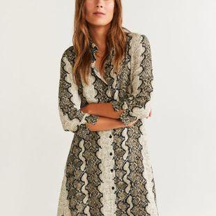 Mayoreo de Moda Vestido de invierno con estampado de serpiente de invierno 2019  NHAM177702's discount tags