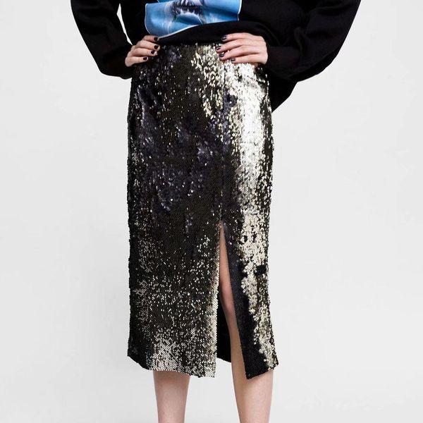 Wholesale Fahion winter beads density thick version package hip step skirt skirt NHAM177747