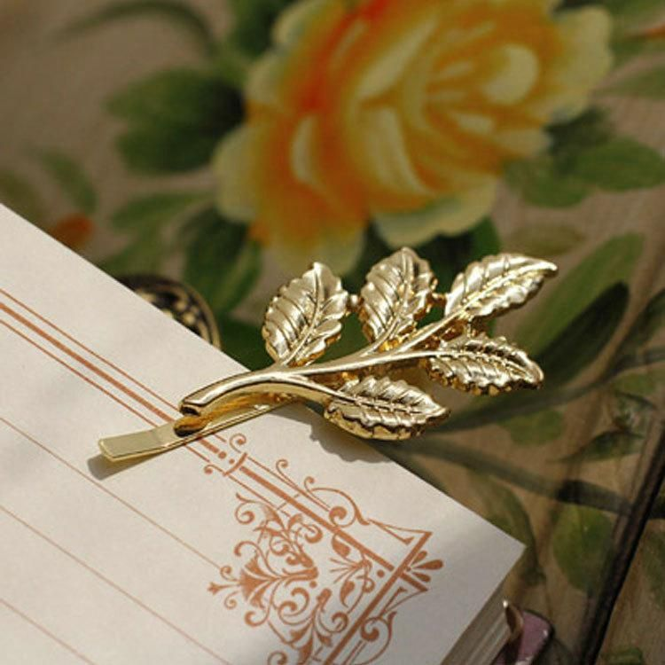Hair accessories for girls Vintage hair accessories olive branch hairpin bridal headdress tree leaves clip wholesale NHDP178266