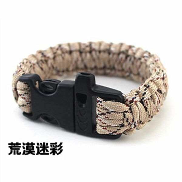 Umbrella rope bracelet woven bracelet fashion bracelet survival bracelet wild survival outdoor supplies seven core umbrella rope NHIM178048