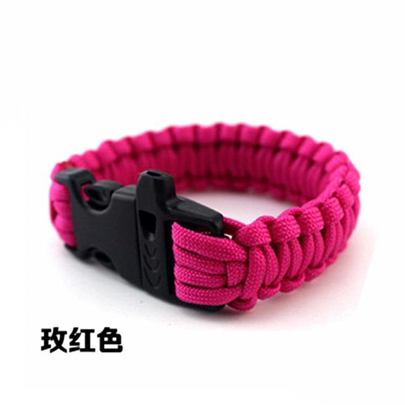 Wholesale fashion Umbrella rope bracelet woven bracelet fashion bracelet survival bracelet wild survival outdoor supplies seven core umbrella rope NHIM178049