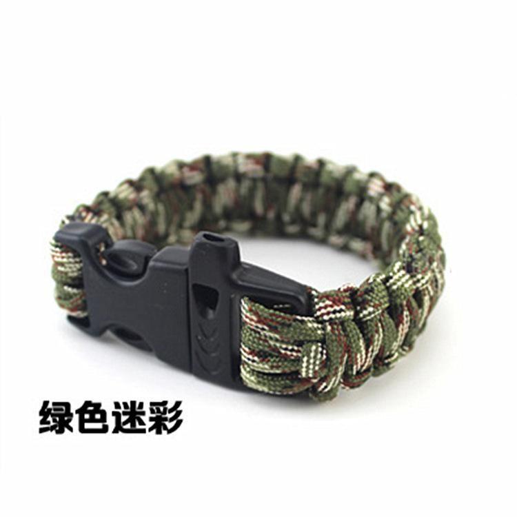 Wholesale fashionUmbrella rope bracelet woven bracelet fashion bracelet survival bracelet wild survival outdoor supplies seven core umbrella rope NHIM178051