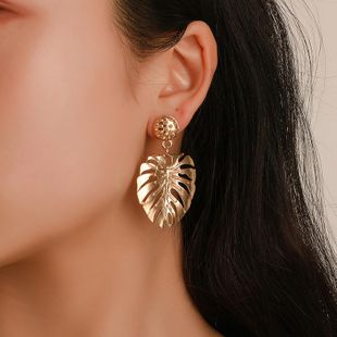 Fashion hollow leaves earrings ethnic style NHDP178276's discount tags