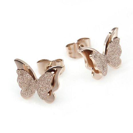 Boucles d'oreilles en plaqué or rose NHOP178171's discount tags