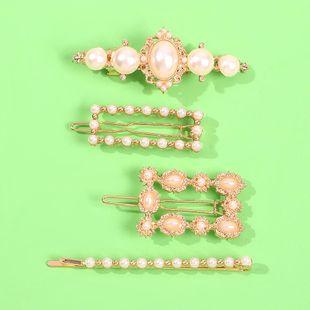 Diadema con joyas  perla horquilla clip de moda accesorios para el cabello mayorista de moda  NHMD178339's discount tags