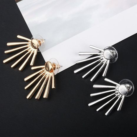 Creative round nails vertical long stud earrings wholesale fashion NHDP178239's discount tags