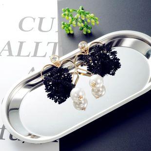 Korean lace earrings NHIM178067's discount tags