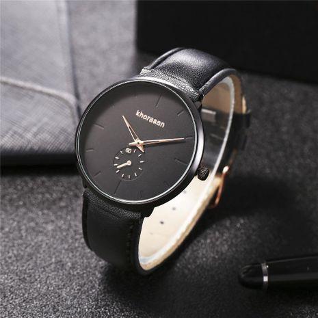 New men's fake single eye color pointer belt men's quartz watch wholesales fashion  NHHK178346's discount tags