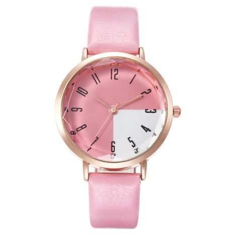 Watch ladies personality digital scale two-color simple belt quartz watch female models wholesales fashion  NHHK178348's discount tags