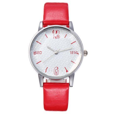 Dial women's belt quartz watch wholesales fashion  NHHK178353's discount tags