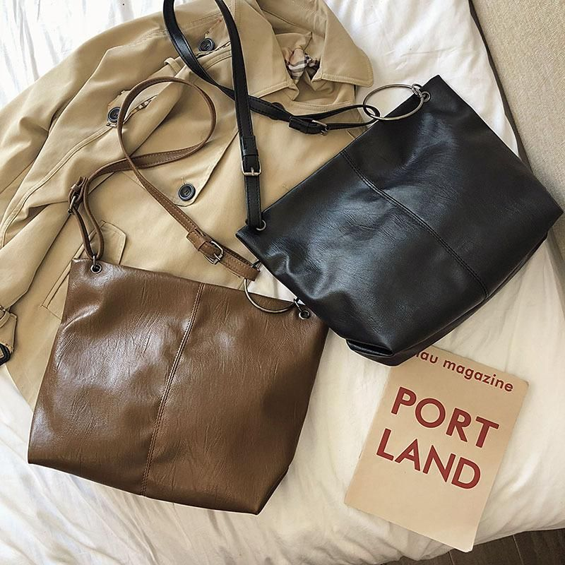 Shoulder bag female big bag 2019 Messenger bag soft face fashion large capacity tote bag NHXC178883