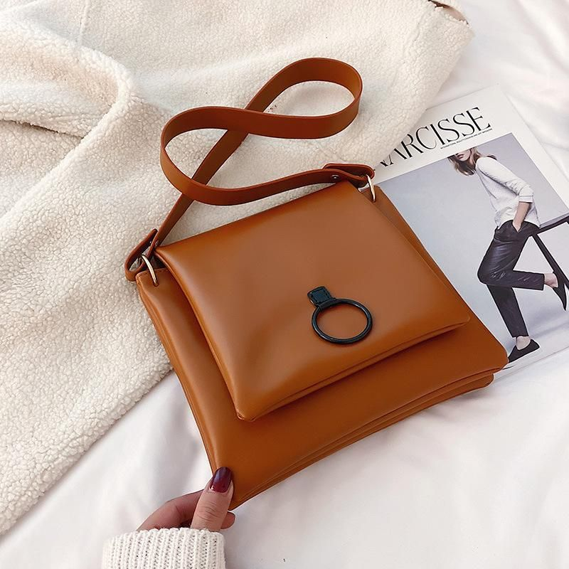 Simple retro messenger bag large capacity temperament shoulder bag wholesales fashion NHXC178915