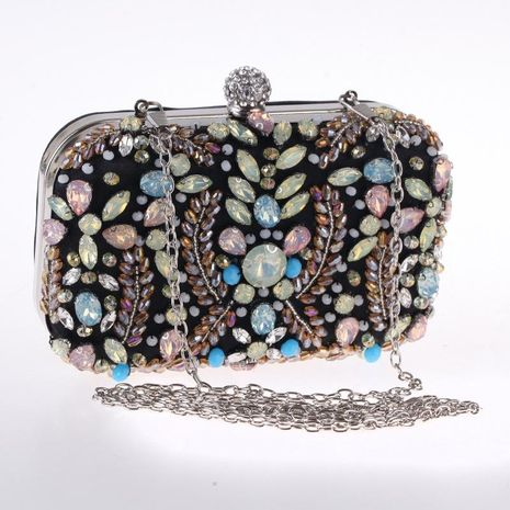 Fine hand-studded beaded bag featuring evening banquet bag NHYG178964's discount tags