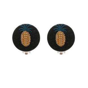 Pendientes de clip de oreja de piña hechos a mano modelos de explosión accesorios de joyería calientes mujer NHZU178846's discount tags