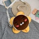 Bolso mensajero de muñeca de expresión de dibujos animados lindo Harajuku bolso pequeño de dibujos animados de bordado divertido NHHX178922