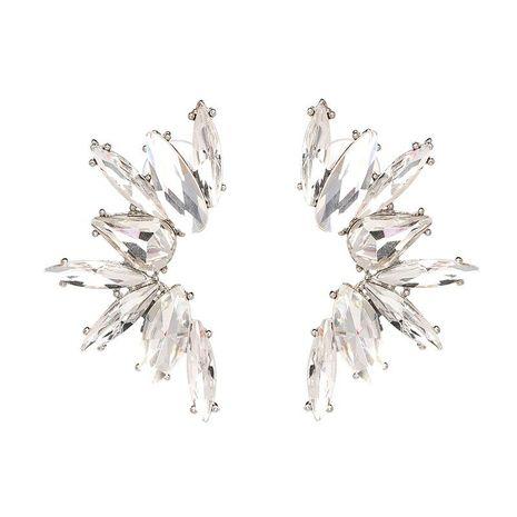 Color cristal gema diamante pendientes de moda accesorios femeninos joyería NHJJ178995's discount tags