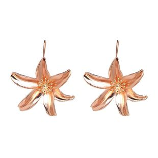 New fashion alloy lily earrings 7 colors NHJJ178992's discount tags