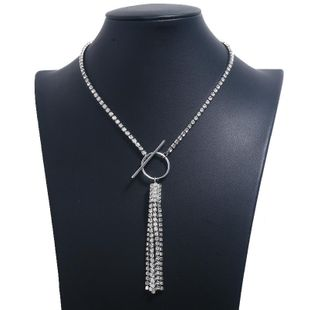 Fashion Short Necklace Necklace Claw Chain Necklace Hot Sale New Full Diamond Necklace NHKQ179040's discount tags