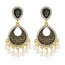 Explosion jewelry drops oil fashion tassel earrings bohemian alloy earrings NHKQ179064