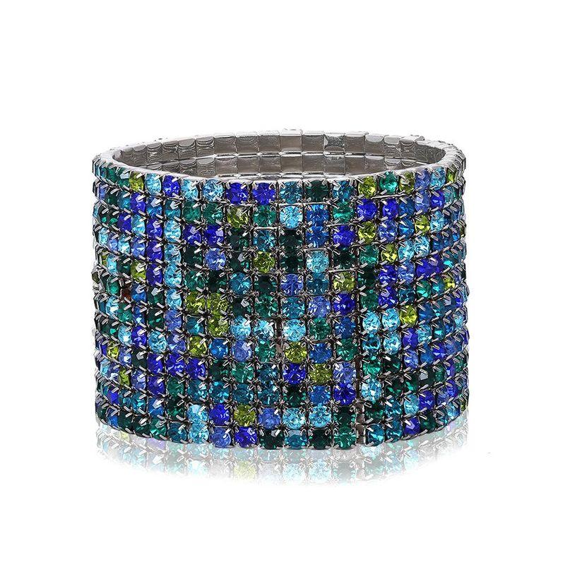 Bohemian Fashion Alloy Diamond Colorful Bracelet NHJQ179584