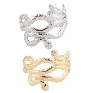 Metal snake bracelet opening adjustable bracelet wholesales fashion NHHN179711's discount tags