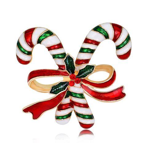 Nouvelle série de Noël broche mode double béquilles broche accessoires de vêtements en gros NHDR179485's discount tags
