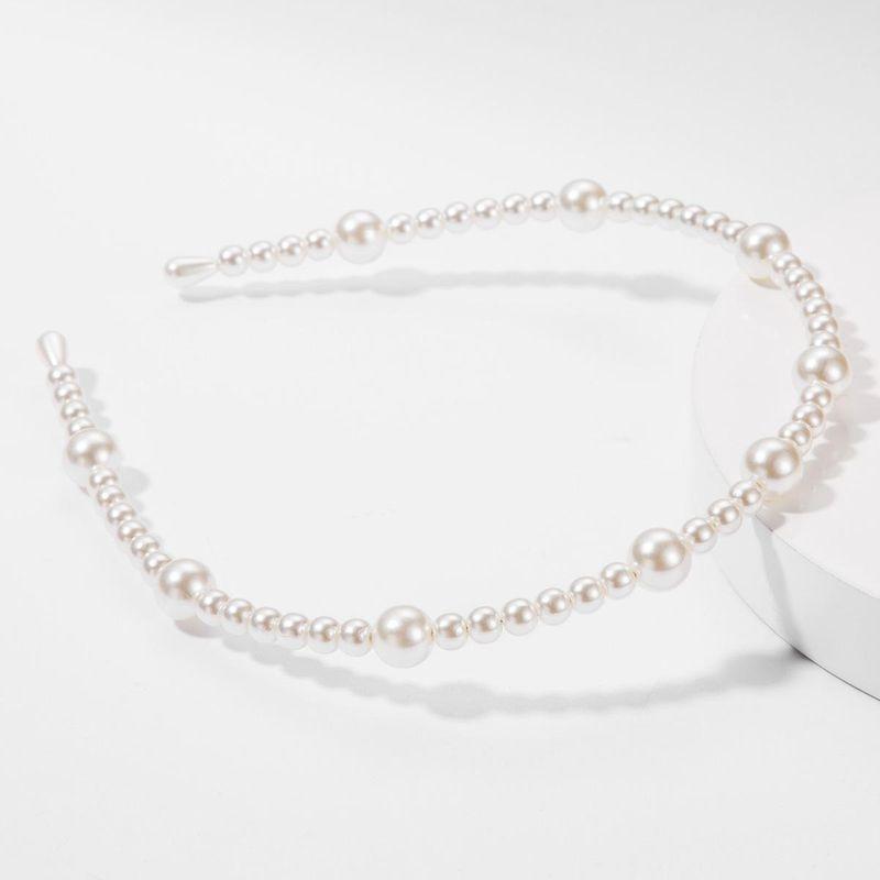 Fashion Pearl Headband Fashion Headwear Wholesale NHJE179613