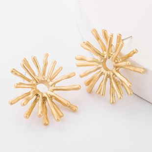 Alloy geometric sea urchin earrings wholesales fashion NHJE179602's discount tags
