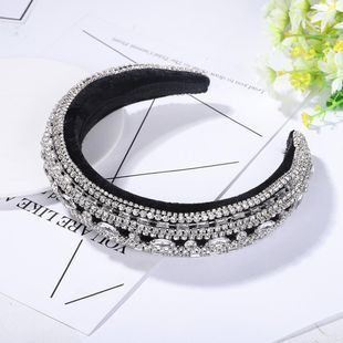 New high-end velvet diamond headband jewelry NHJQ179579's discount tags