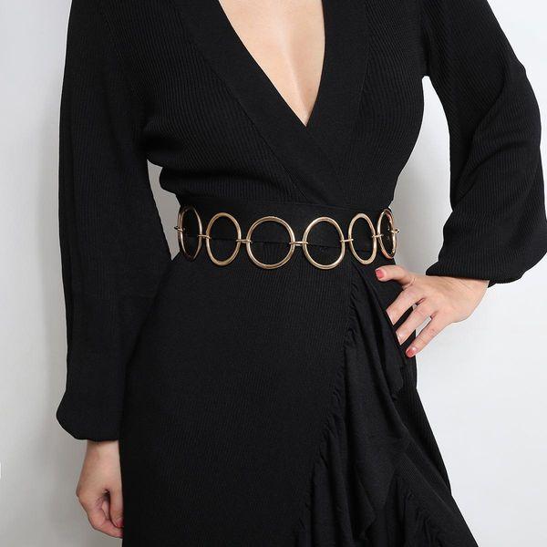 Geometric body chain female ring acrylic phase waist chain wholesales fashion NHXR179645