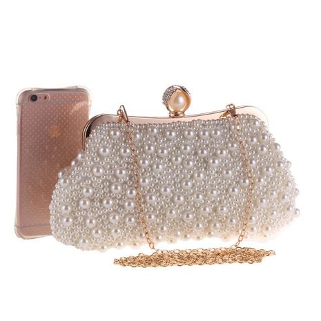 New Pearl Dinner Bag NHYG174716's discount tags