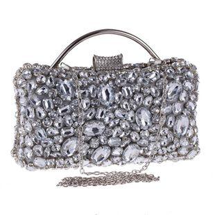 Bolso de banquete de diamantes acrílicos de estilo europeo y americano NHYG174714's discount tags