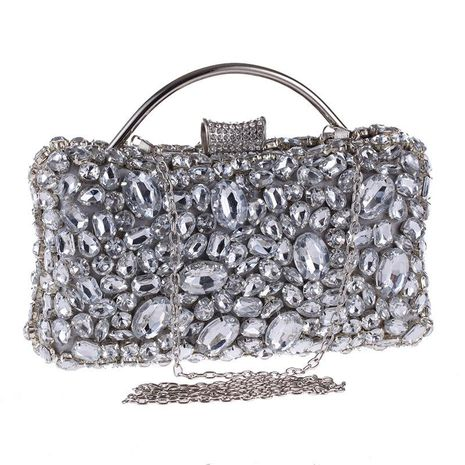 European and American style acrylic diamond banquet bag NHYG174714's discount tags