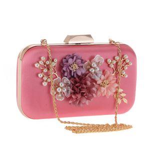 Paquete de noche de lujo para mujeres coreanas con flor rosa de lujo NHYG174738's discount tags