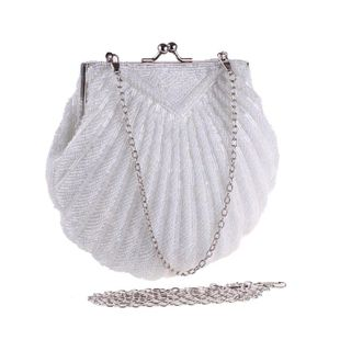 Nuevo bolso de noche de poliéster con cadena cruzada y cuentas cruzadas NHYG174739's discount tags